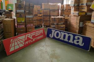 Joma y la RFEA, solidarios con La Palma